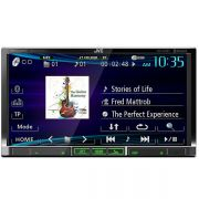 Dvd Player Automotivo JVC Kenwood KW-V40B Tela 7 Touch Cd Dvd Usb Bluetooth