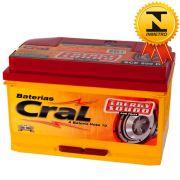 Bateria Automotiva Selada Cral Energy Sound 80A Direita