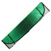 Protetor Solar Parasol Automotivo Parabrisa Verde Metalizado