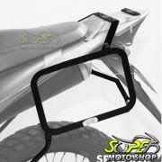 Suporte Lateral Scam para Bauletos Laterais Preto XRE 300 - Honda