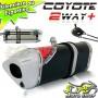 Escape / Ponteira Coyote TRS 2 Way + Mais Alum�nio YBR Factor 125 2009 em Diante - Preto - Yamaha