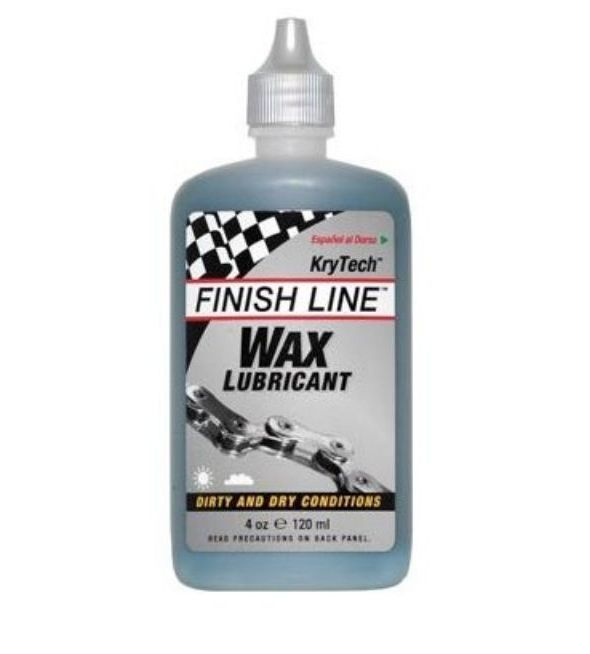 Lubrificante Finish Line a Base de Cera Krytech 60ml