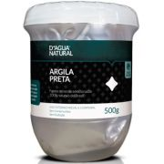Argila Preta Facial E Corporal - 500g D'Agua Natural