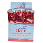 Kit Descart�vel Manicure Luva Metalizada - Caixa com 50 unidades