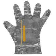 Kit Manicure Descart�vel Metalizado com Amolecedor