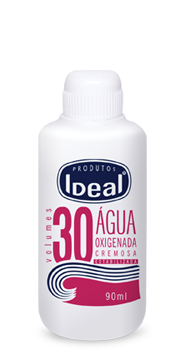 �gua Oxigenada Cremosa 30 Volumes 90ml - Ideal