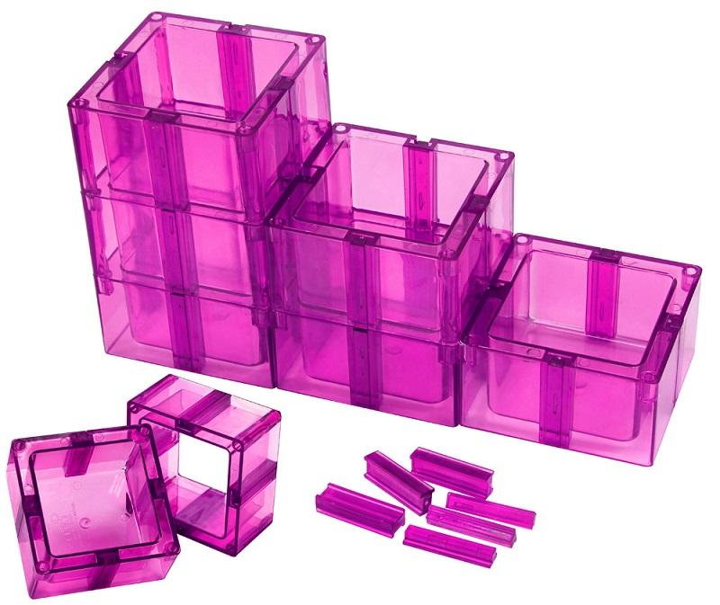 Organizador Multiuso Mont�vel Com Fundo Pink - Santa Clara