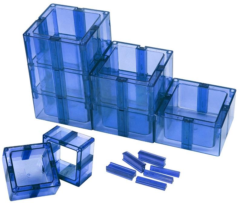 Organizador Multiuso Mont�vel Sem Fundo Azul - Santa Clara