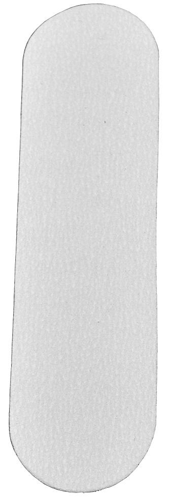 Refil De Lixa Grossa Branca Para O P� - 50 Unidades