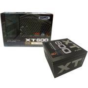 Fonte ATX XFX 600W Real - PFC Ativo - 80 Plus Bronze