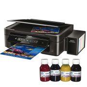 Impressora Multifuncional Epson Ecotank L220 Bulk Ink + 400ml Tinta Sublim�tica