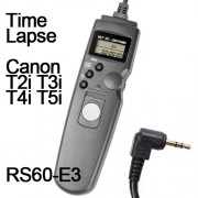 Cabo Disparador Remoto Time Lapse para Canon RS60-E3 TC1001