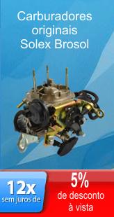 Carburadores originais da Brosol Solex