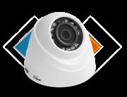 C�mera Dome Intelbras HDCVI Infravermelho 3.6mm HD 720 megapixel - VHD 1120 D