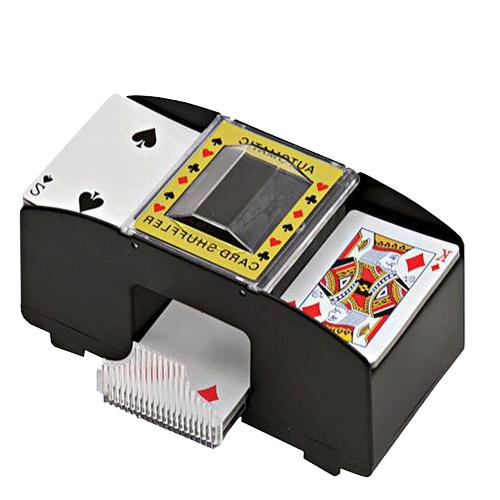 Embaralhador automático de cartas para até 2 baralhos