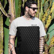 Camiseta Masculina Bicolor Fresno �ncoras