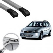 Rack Travessa Corsa Wagon Alum�nio Long Life Cross