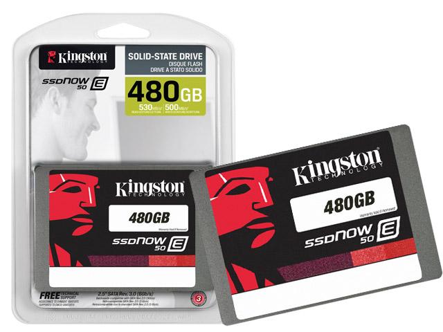 SSD Servidor Kingston SE50S37 / 480G E50 480GB Enterprise SATA III