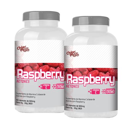 Raspberry Ketones - Promo��o 2 Unidades - Ch� Mais