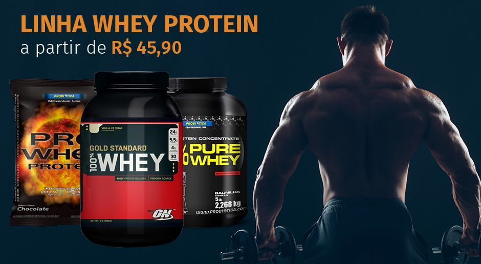 linha whey protein