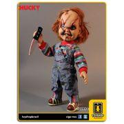 Child�s Play: Talking Scarred Chucky 38 Cm Com Sons - Mezco