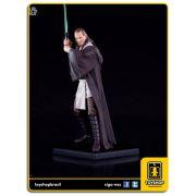 Star Wars: Est�tua Qui-Gon Jinn Art Scale 1/10 - Iron Studios