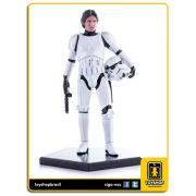 Star Wars:  Star War Han Solo Disguise   Art Scale 1/10 - Iron Studios