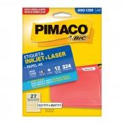 Etiqueta Pimaco Laser A5Q1250 - PORT - Inform�tica - Escrit�rio - Papelaria
