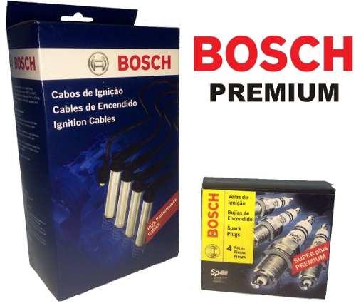 Kit Cabos E Velas Bosch Gm Astra Vectra Zafira Gasolina F00099C014 | F000KE0P44 consulte aplicação