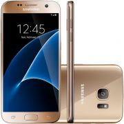 Smartphone Galaxy S7 G930F, Octa Core 2.3GHz, Android 6.0, Tela Super Amoled 5.1, 32GB, 12MP, 4G, Do