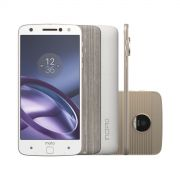 Smartphone Moto Z Power DC Edition 64GB Branco e Dourado Dual Chip 4G C�m. 13MP XT1650 - Motorola
