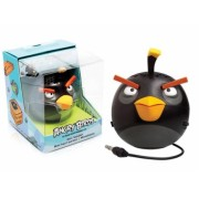 Caixa de Som Angry Birds Mini Speaker Black Bird 2,5W RMS (PG779G) - Gear4
