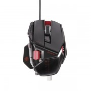 Mouse Gamer Laser Cyborg R.A.T. 7 6400DPI Glossy Black (Ajustavel) MCB4370800C2 - Mad Catz