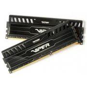 Mem�ria Viper 3 8GB (2x4GB) DDR3 1600Mhz PV38G160C9K Preto - Patriot
