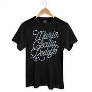 Camiseta Masculina Maria Cec�lia & Rodolfo Type