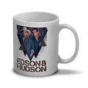 Caneca Edson & Hudson Foto Tri�ngulo
