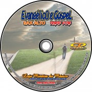 SAX ALTO Partituras Evang�licas com Playbacks Gospel 50 M�sicas (Volume 1)