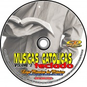 TECLADO Partituras Cat�licas com Playbacks Cat�licos MP3 e Midis em CD (Volume 2) - Op��o tamb�m de