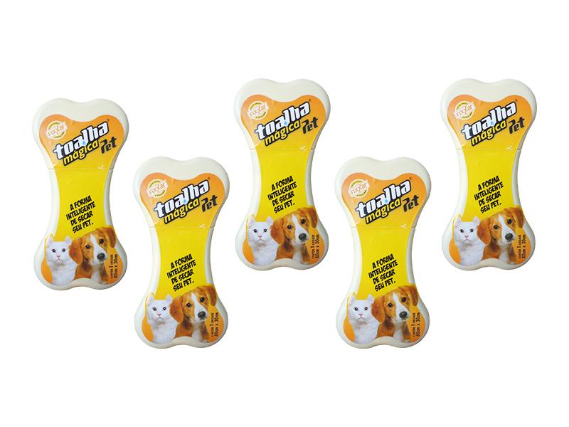 5 Toalha Pet Shop Exclusiva Original - Frete Grátis