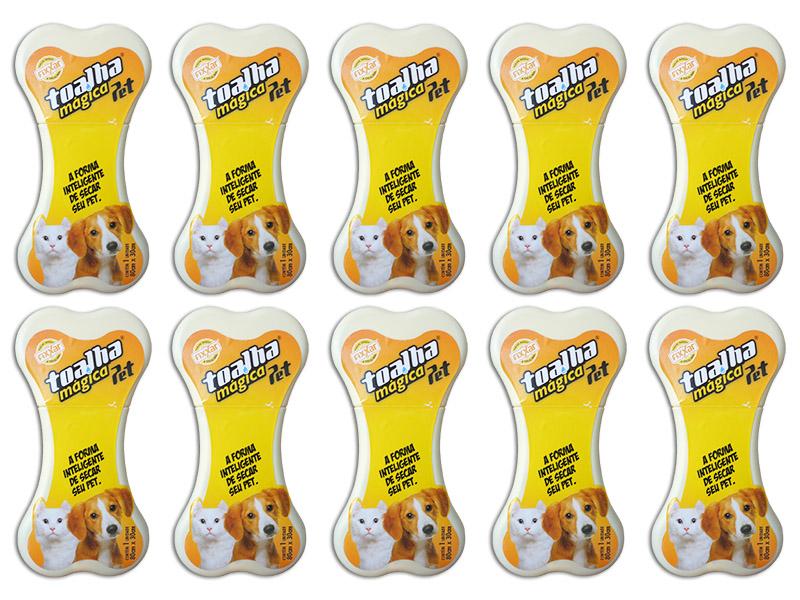 10 Toalha Pet Shop Exclusiva Original - Frete Grátis