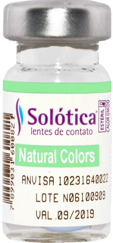 Lentes de Contato Coloridas Natural Colors Solótica