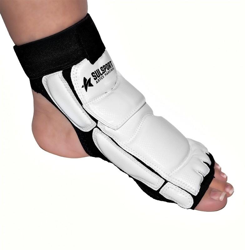 Meia Protetor de P� - Taekwondo - WTF - Sulsport