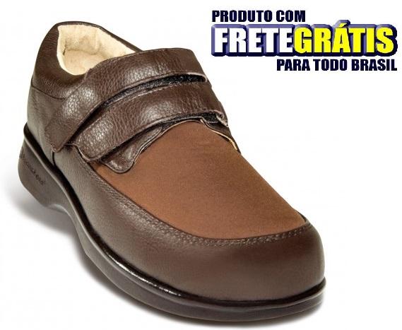 Sapato Masculino para Diabeticos