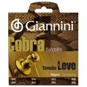 Encordoamento Giannini para Bandolim com Bolinha GESBN .010-.030