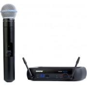 Microfone de M�o Sem Fio Digital Shure PGXD24 / Beta 58