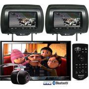 DVD Player Automotivo 2 Din Pioneer AVH-X5880AV Tela 7 Polegadas Com TV Digital Bluetooth Entrada US