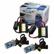 Kit Xenon H27 8000K Com Reator Digital HID