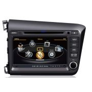 Central Multim�dia Honda Civic 2015 2016 - PRETO - Com DVD GPS Mapa Bluetooth MP3 USB Ipod SD Card C